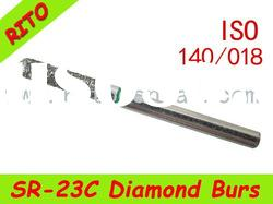 SR-23C Round End Taper Diamond Burs,Good Quality Dental Diamond Burs - Rito Dental Quality Products