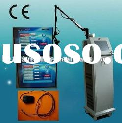 Scar removal Beauty equipment Co2 Practical laser machine Amber Fr30 laser for tattoo removal