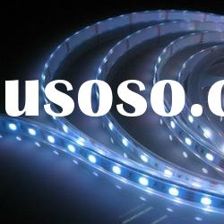 Smd 5050 Led Strip, 5000mm white PCB in Silicon Jacket, RGB