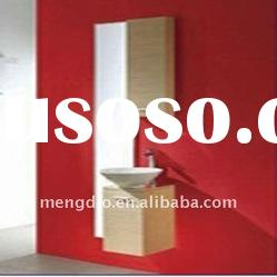 Solid Wood Small Simple Design Hanging Bathroom Vanities