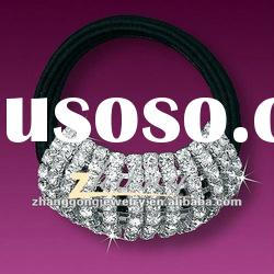 Sparkly clear rhinestone beauty design hari band