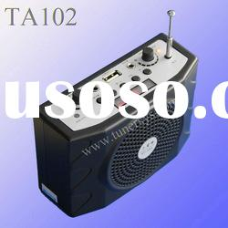 TA102 teaching and tour guide amplifier loudspeaker