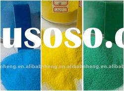 Thermosetting electrostatic spraying polyester powder coating