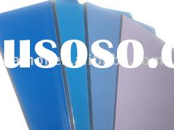 aluminum composite panels blue PE/Fireproof core alucobond construction materials