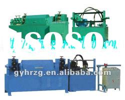 automatic steel bar straightening, cutting and aligning machine