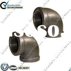 banded BS black iron pipe fittings