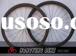 carbon racing bicycle wheelset 38mm clincher