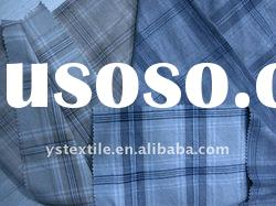 cotton/spandex yarn dyed shirting fabric