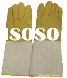 cow split leather welding gloves working gloves