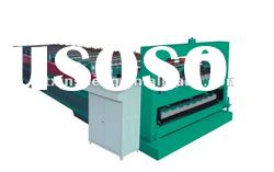 double deck color steel plate roll forming machine