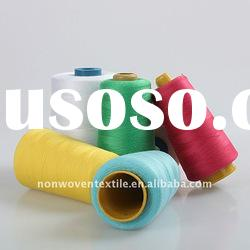 dyed 30/2 ring spun polyester sewing thread
