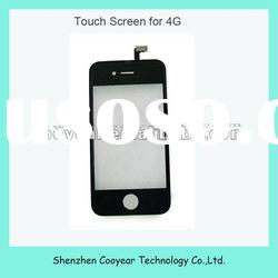 factory price digitizer touch panel screen for apple iphone 4 paypal is accepted