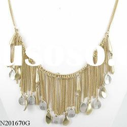 fall shape different types of necklace chains
