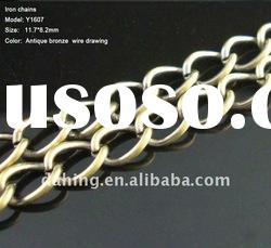 fashion decorative jewelry chain ,brass curb chain ,copper chain