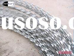 galvanized Concertina Razor Wire/Galvanized Razor Barbed Wire/Concertina Razor Wire