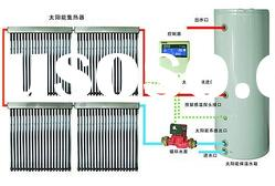 heat pipe seperated solar water heater system(BEST SELL)