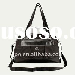 large zippered tote bag with laptop pocket