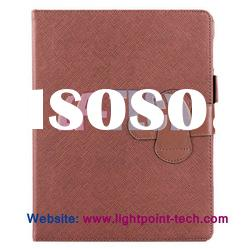 leather mini notepad holder leather back cover for ipad 2