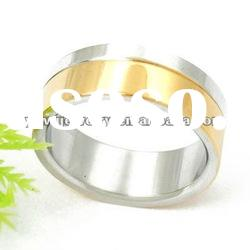 men's fashion jewelry stainless steel ring