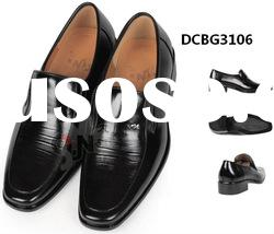 men's leather dress shoes accept customized