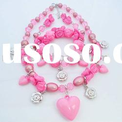 newest fashion jewelry sets with necklace and bracelet jewelry set