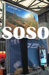 outdoor large advertising trivision billboard with stand