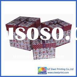 paper gift boxes to decorate from Chinese printing factory