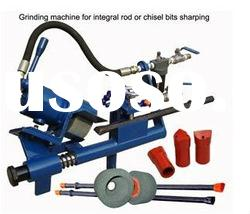 pneumatic air drill bit and drill steel rod grinding
