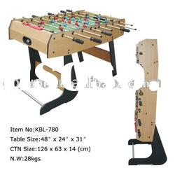 printing and colorful folding soccer table&foosball table&table soccer