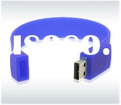 purple color bracelet usb flash drive/pen disk/pen drive/memory stick/usb disk/usb flash driver