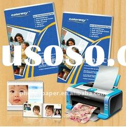 self adhesive Matte coated inkjet photo paper (120gsm )
