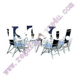 sell RLF-TH-004 patio garden aluminum sling dining outdoor furniture set
