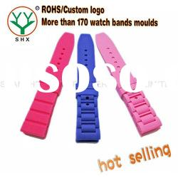 silicone factory replacement watch bands