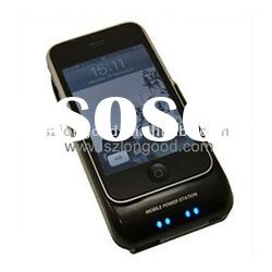solar charger power backup case for phone 3G,3GS(2100mA battery)