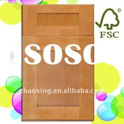 solid wood shaker style cabinet doors