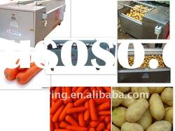 stainless steel automatic vegetable washer and peeler
