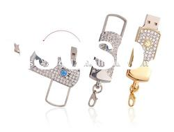 usb flash memory drive Jewelry diamond gift for wedding gift