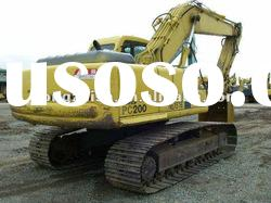 used Komastu excavator PC200-6 Made in Japan in Bottom price