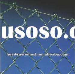 vinyl coated Wire Fencing/chain link fence