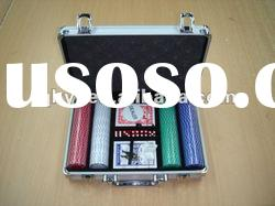 100pcs poker chip set|ABS poker chip set|casino chip set