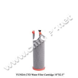 "10"" Activated Carbon Block Water Filter Cartridge"