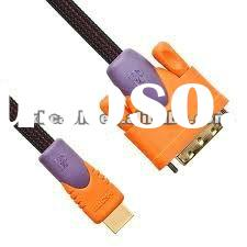 10 Foot HDMI to DVI Cable 1080P gold plated