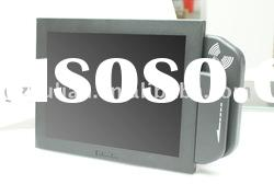 """12""""Touch Monitor(resistive touch panel) with MSR card reader -YL125"""