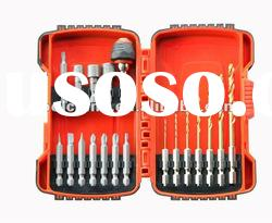 19pc. Hex Shank Drill and driver Set