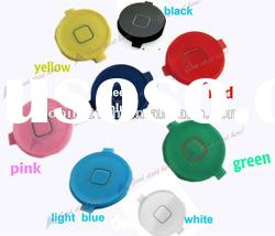 1X Colorful New Menu Home Button Keypad Key for Iphone 4G 4