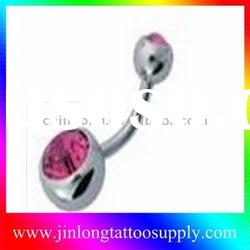 2011 Fashion UV plug body jewelry(navel piercing jewelry)