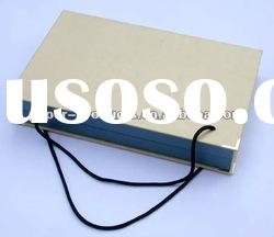 2011 hot sell custom chinese grey paper gift box with handle