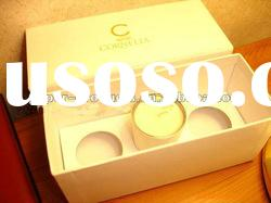 2011 hot sell custom decorative cardboard storage boxes yellow