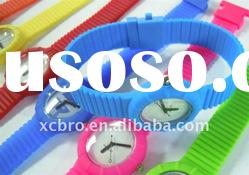 2011 silicon watches for children in promotion