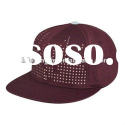 2012 Fashion Shiny Design Men's Stylish Flat Brim Snapback Hats